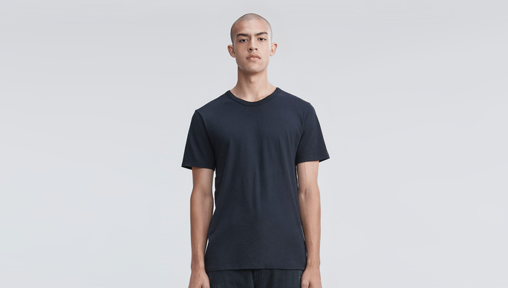 64de3e285931 For a plain cotton tee, this will cost you a lot more than that your  average black t-shirt, but the classic slim cut is unique only to this t- shirt from the ...